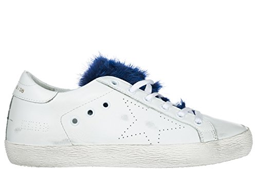 Cuir Blanc Baskets Chaussures Goose en Sneakers Superstar Golden Femme ZvYaxv
