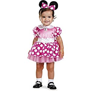 Mickey Mouse Clubhouse - Pink Minnie Mouse Infant Costume Mickey Mouse Club House - costume size Toddler Pink Minnie Mouse :12-18 Months (japan import)