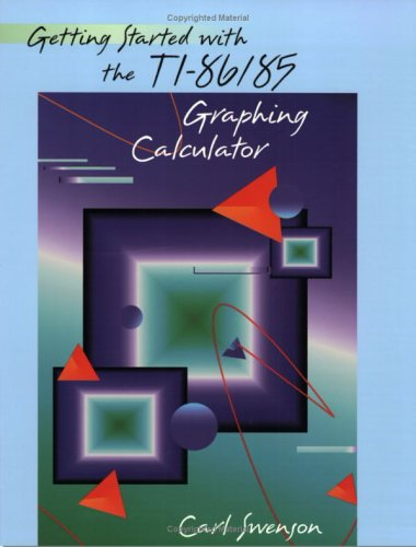 Getting Started with the TI-86/85 Graphing Calculator
