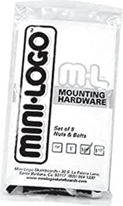 Mini-Logo Skateboard Hardware (1-Inch)