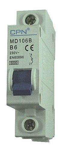 CONTACTUM CPB20-20//1 20 AMP SINGLE POLE MCB CIRCUIT BREAKER