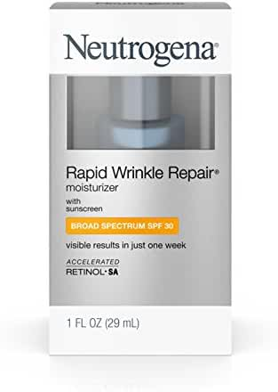 Neutrogena Rapid Wrinkle Repair Moisturizer With Spf 30, 1 Fl. Oz.