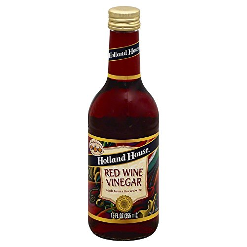 HOLLAND HOUSE VINEGAR WINE RED 12OZ by Holland House