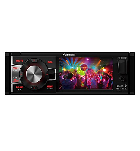 Pioneer DVH-885AVBT Single DIN Bluetooth In-Dash DVD/CD/AM/FM/Digital Media Car Stereo Receiver w/ 3.5