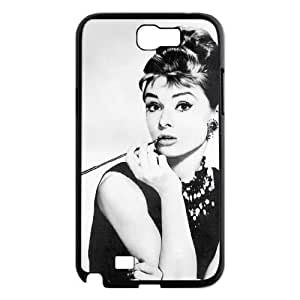 Audrey Hepburn Personalized Cover Case for Samsung Galaxy Note 2 N7100,customized phone case ygtg-786021 WANGJING JINDA