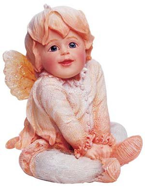 Boyds Bears Resin Bashful Faerietots Baby - Resin 2.00 IN