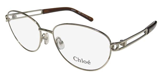 e7baebe7af3c Amazon.com  Eyeglasses CHLOE CE 2123 713 LIGHT GOLDBROWN  Clothing