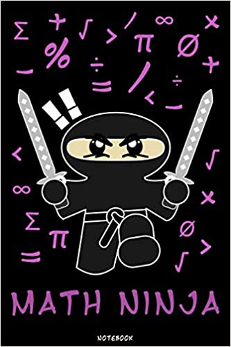Math Ninja: Ninja Journal | Ninja Warrior Notebook | Gift ...
