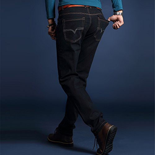 9dd31f4c4825 durable service Men  s summer thin section of business casual pants slim stretch  denim trousers