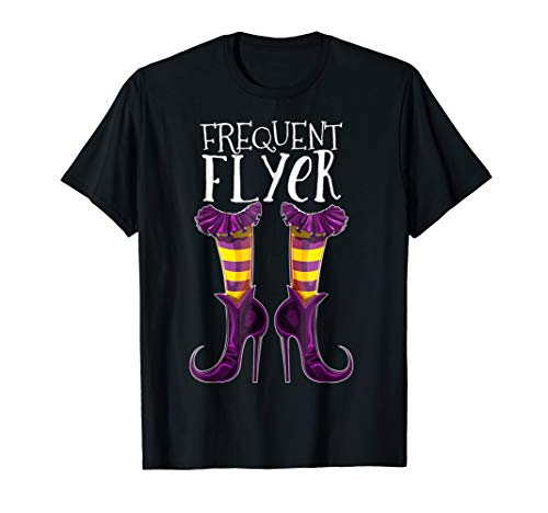Frequent Flyer Halloween Witch Shoe Costume Shirt Witch