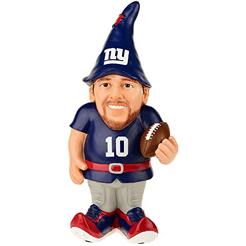 New York Giants Manning E. #10 Resin Player Gnome