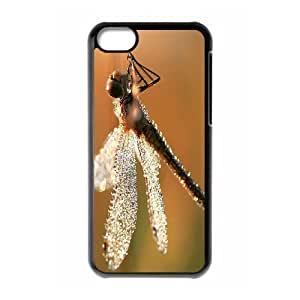 Beautiful Dragonfly New Fashion DIY Phone Case for Iphone 5C,customized cover case ygtg-309787