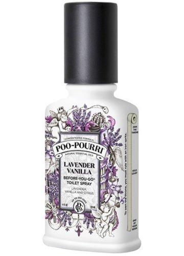 Poo-Pourri Before-You-Go Toilet Spray Bottle, 4 oz, Lavender Vanilla by Poo-Pourri