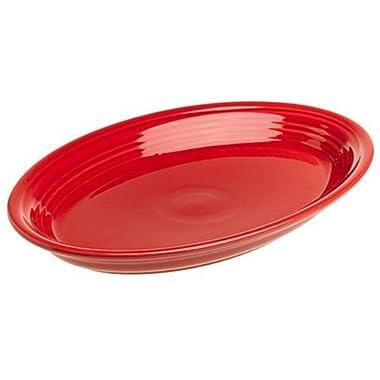Fiesta 13-5/8-Inch Oval Platter, Scarlet