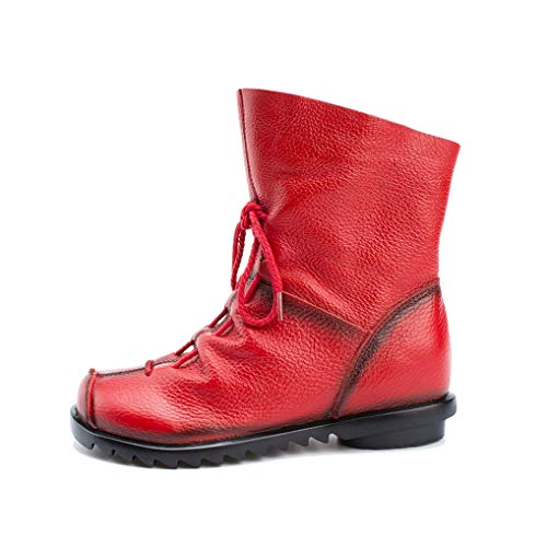 - Eric Carl Womens Casual Short Boot Side Zipper Platform Ankle Boot