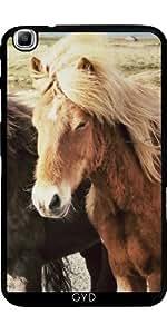 Funda para Samsung Galaxy Tab3 8.0 SM-T310 - Animales Caballo Hermosa by WonderfulDreamPicture