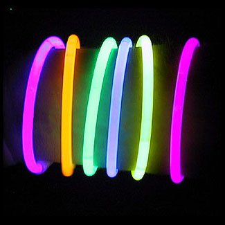 "300 10"" Glow Sticks Bracelets Assorted Colors"