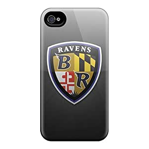 Hot UrW26587EOFU Case Cover Protector For Iphone 4/4s- Baltimore Ravens