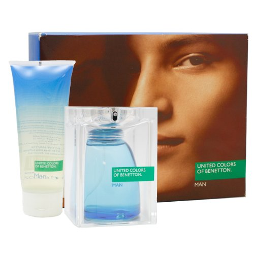 United Colors of Benetton By United Colors of Benetton For Men Gift Set (Eau De Toilette Spray 2.5-Ounce / 75 Ml + Shower Gel 6.7-Ounce / 200 Ml)