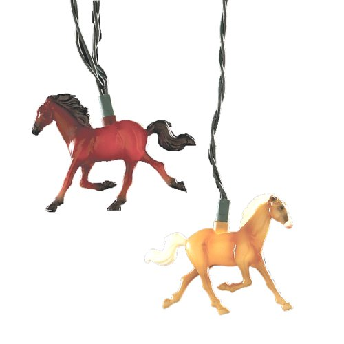 Running Horse Indoor/Outdoor Light Set (Horse Party Lights)