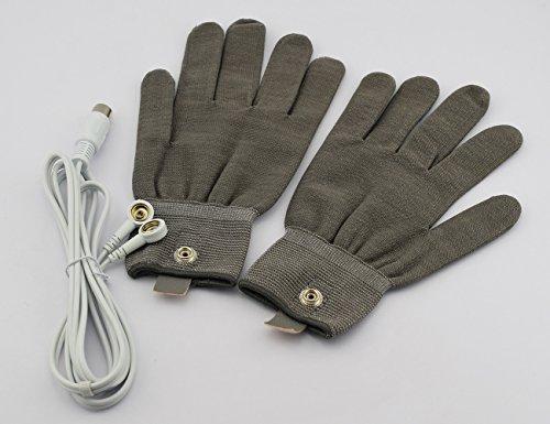 (Elitzia ETMG001W BIO Skin Face Lifting Electricity Magic Therapeutic Apparatus Gloves)