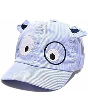 Kids Hats,Cotton Baseball Caps Cute Dog Beret Hat Sun Hat for Boy Girls 1-3 T