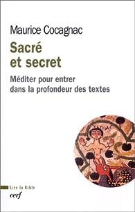 Sacré et secret par Maurice Cocagnac