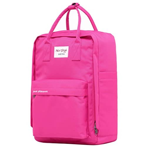 21aa3f52b833 PURE PLEASURE College Backpack Travel Handbag | 16.5