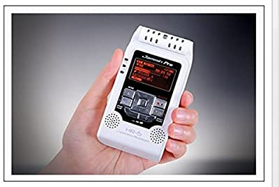 Jammin Pro HR5WHITE Studio Flash Recorder, White from DJ Tech Pro USA, LLC