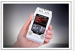 Jammin Pro HR5WHITE Studio Flash Recorder, White