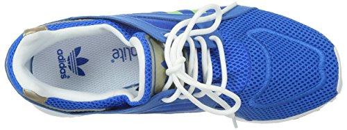 adidas Racer Lite K - Zapatillas Para Niño Azul / Lima / Blanco