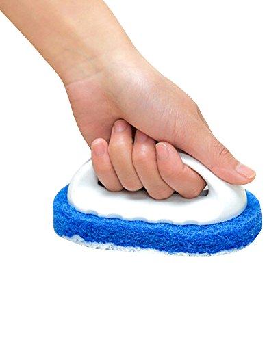 floor-bath-tile-tub-scrubber-kitchen-bathroom-household-scrub-brush-non-scratch-scouring-griddle-pad