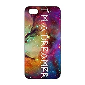 Slim Thin 3D Galaxy Dream For Iphone 5C Phone Case Cover