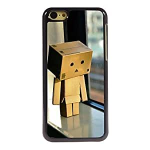 QHY Before the Window Wooden Man Design Aluminum Hard Case for iPhone 5C , White
