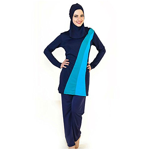 Muslim Costume Swimwear Islamic Hijab Modest Swimsuit for Women - Muslim Costume For Female