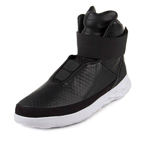 Nike Mens Swoosh Hntr Cacciatore Di Cuoio Nero / Bianco Nero / Bianco