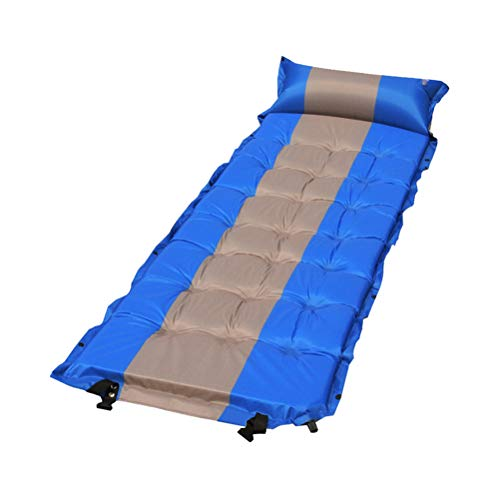BESBOMIG Waterproof Inflating Sleeping Pad - Multi-Function Mattress Sleeping Mat
