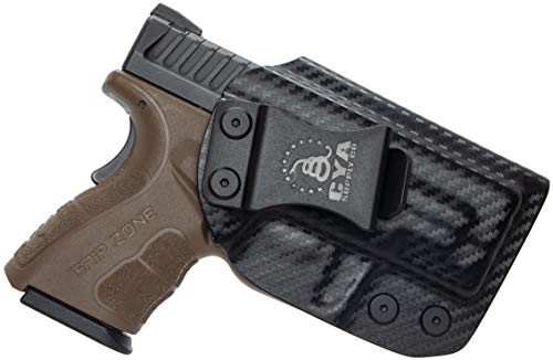 CYA Supply Co. IWB Holster Fits: Springfield XD MOD.2-3 Sub-Compact 9MM / .40S&W - Veteran Owned Company - Made in USA - Inside Waistband Concealed Carry Holster