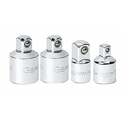 """GEARWRENCH 4 Pc. 1/4"""", 3/8"""" & 1/2"""" Drive Adapter Set - 81217 - Drive Sockets - .com"""