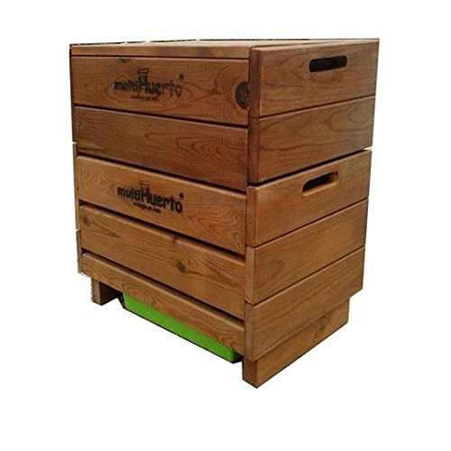 Vermicompostador madera completo Multihuerto