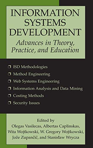 Information Systems Development: Advances in Theory, Practice, and Education (Portal Design Best Practices)