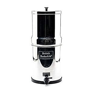 Amazon Com British Berkefeld 174 Gravity Water Filter With