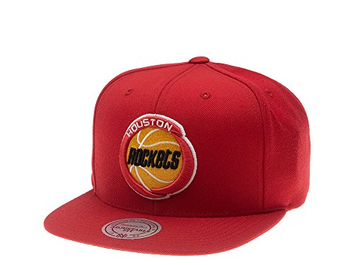 Mitchell & Ness - Gorra de béisbol - para Hombre Rojo Rojo única