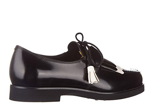 Tod's Chaussures à Lacets Classiques Femme en Cuir Caoutchouc XL Allacciata Der HFuGtWMNK