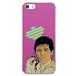 Loud Universe Tony Montana iPhone 5 / 5s Case Quote Scarface Retro MovieiPhone 5 / 5s Cover with Transparent Edges