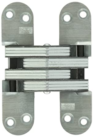 SOSS 218UNP 218 Zinc Invisible Hinge with Holes for Wood or Metal ...