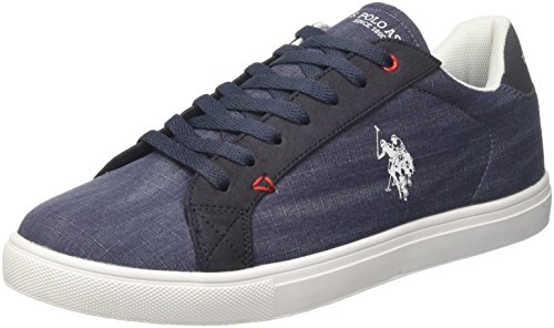 S Bleu Baskets U Dkbl POLO Homme ASSN Dark Tunis Blue Aywdpdqf