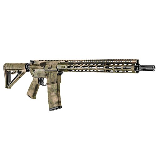 Fg Camo (GunSkins AR-15 Rifle Skin Camouflage Kit DIY Vinyl Wrap with precut Pieces (A-TACS FG))