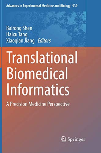 Translational Biomedical Informatics: A Precision Medicine Perspective (Advances in Experimental Medicine and Biology)-cover