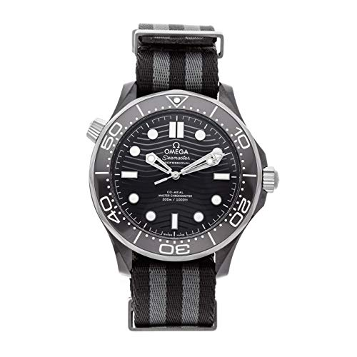Omega Seamaster Mechanical (Automatic) Black Dial Mens Watch 210.92.44.20.01.002 (Certified Pre-Owned)